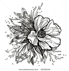 flower drawing... tattoo idea?
