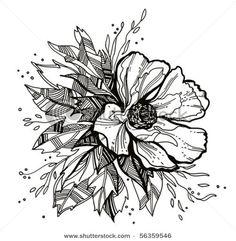 flower drawing... tattoo idea?