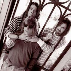Dave, Kurt, and Krist