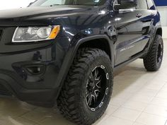 2014 Jeep Grand Cherokee Laredo - 4x4 Lifted Black Wheels - YouTube