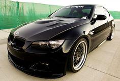 Sick: Jet Black ARKYM AeroRace Kit for BMW M3.