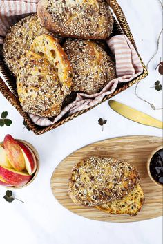 Bread Recipes, Cooking Recipes, Food Crush, Bread Bun, Ciabatta, Yummy Eats, Bread Baking, Food And Drink, Snacks
