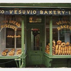 # bread # bakery...I like the idea of displaying the bread in the window...or so it can be seen! Maybe not pressing on it !!!