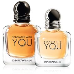 Emporio Armani Stronger With You & Emporio Armani Because It's You by Giorgio Armani (2017) #beautynews #beauty2017 #beautyreview #perfume #perfume2017 #perfumenews #olfactive #fragrance #fragrance2017