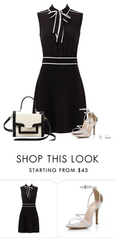 """""""Plain & Simple"""" by ksims-1 ❤ liked on Polyvore featuring Boutique Moschino and Kate Spade"""