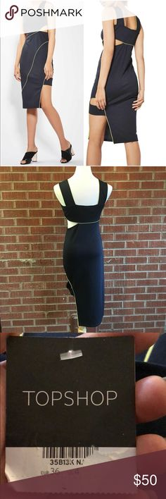 ‼️TOPSHOP BLACK NEON CUTOUT MIDI DRESS NWT BLACK YELLOW NEON CUTOUT MIDI DRESS SUPER SEXY FITTED  SIZE 4  ⭕️BUNDLE AND SAVE ON SHIPPING ONCE  ⭕️CHECK OUT MY GREAT DEALS NAME BRAND NWT ⭕️PLEASE ASK ANY QUESTIONS  ⭕️REASONABLE OFFERS ARE WELCOME  ⭕️DONT FORGET TO FOLLOW Topshop Dresses Midi