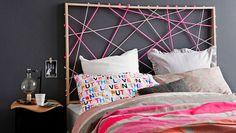 ¿Por qué no meterle un juego de color y darle un toque diferente a tu cama?