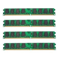 Wallmart.win 4PCS 2GB DDR2-800MHz PC2-6400 240PIN DIMM AMD Motherboard Memory RAM: Vendor: BG-US-Computer-and-Networking Type: Memory…