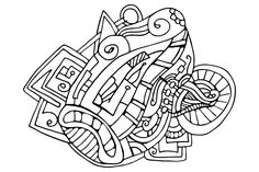 Futuristin Zentangle Hand Draw Designs Free Coloring Page Free Coloring Pages, Mandala Art, Vector File, Colorful Pictures, Zentangle, Free Design, Free Printables, How To Draw Hands, Free Colouring Pages