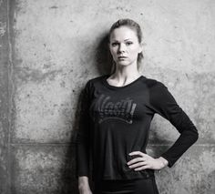Long Sleeve Graffiti Top by Nasty Lifestyle. Get yours today! Crossfit Clothes, Fitness Apparel, Graffiti, Women Wear, Spring Summer, Gym, T Shirts For Women, Running, Lifestyle