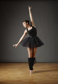 You need 5 to 8 yards of tulle on a bolt to make an adult-sized tutu.