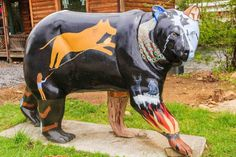 Legends Bear. Art Bears Project of Cherokee, North Carolina. The Bears Project started in 2005 with the intention of showcasing the variety of talented artists within the Qualla Boundary. A committee researched several concepts prior to selecting a bear theme, as they intended to produce something that would be culturally significant. Bears are a large part of the Cherokee culture and appear in many of the stories and legends that the Cherokee people hold sacred.