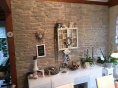 wohnen steinwand navarrete   wohnzimmer   pinterest   steinwand