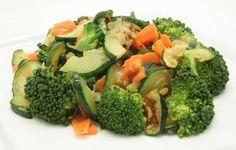 Ultimate Daniel Fast: Simple salads are best.