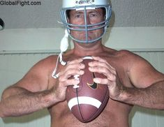 football player daddy bear