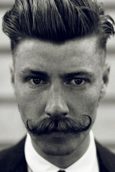 Providing premium moustache and beard grooming products for men. Bart Styles, Beard No Mustache, Handlebar Mustache, Mustache Growth, Men's Grooming, Hair And Beard Styles, Facial Hair, Haircuts For Men, Freckles
