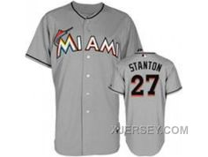 http://www.xjersey.com/new-arrival-mlb-florida-marlins-27-stanton-grey.html NEW ARRIVAL MLB FLORIDA MARLINS #27 STANTON GREY Only 32.17€ , Free Shipping!