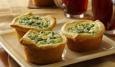 Breakfast Quiches to Go by Pillsbury.com