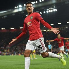 What a night for Mason Greenwood 👏 Football Boys, Football Stadiums, Football Players, Manchester United Team, Official Manchester United Website, Man Utd Fc, The Golden Boy, Basketball Photos, Man United