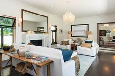 Scarlett Johansson's Stylish LA Home is a Stunner via @domainehome