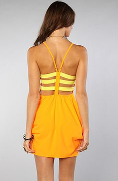 *LA Boutique The Beach Party Dress in Citrus, Save 20% off your order with Rep Code: PAMM6