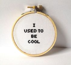 Thrilling Designing Your Own Cross Stitch Embroidery Patterns Ideas. Exhilarating Designing Your Own Cross Stitch Embroidery Patterns Ideas. Funny Embroidery, Embroidery Hoop Art, Cross Stitch Embroidery, Embroidery Patterns, Cross Stitch Patterns, Loom Patterns, Broderie Simple, Diy Broderie, Geeks