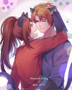 Bam Bam, Alucard Mobile Legends, Moba Legends, Mobile Legend Wallpaper, Anime Version, Couple Art, Anime Chibi, Anime Couples, Aesthetic Anime