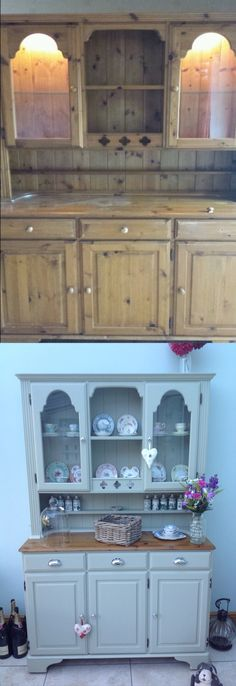 Welsh dresser makeover.