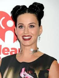 #DoubleBuns #Hairspiration #UpDo Double Buns, Kylie J, Bun Styles, Katy Perry, Updos, Mom, Hair, Image, Up Dos