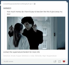 "Much of the fan flailing was due to some VERY unexpected moments, like Sherlock kissing Molly. | Tumblr Reacts To The ""Sherlock"" Season 3 Premiere"