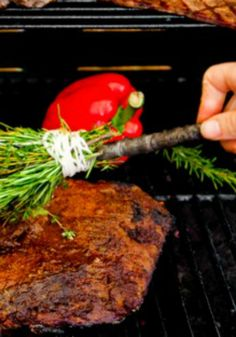 Barbecued Brisket Recipe for any barbecue