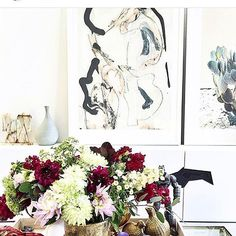 Balmy Sunday in the South down here in Nashville. Thank you @ifalc for featuring my painting in your gorgeous space.#nashville #nashvillestyle #nashvilleshopping