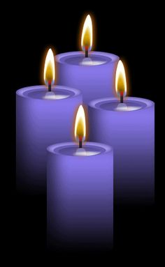 ✯ 4 Violet Candles: Use for Strength, Success, Idealism, psychic revelation; Ideal for rituals which are designed to secure Ambition, Independence and financial success or to establish contact with the other, spiritual world; Enhances Neptune energy .. By ~Blood-Huntress✯