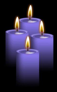 Image result for violet color candle