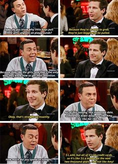 """While Boyle described all of your fourth grade relationships. 