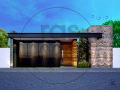 2 Storey House Design, Modern House Design, Modern Backyard, Backyard Landscaping, Boundary Walls, Front Gates, Minimalist Home, Exterior Design, My House