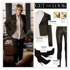 """""""Get The Look: Hanna Marin"""" by fran-tasy ❤ liked on Polyvore featuring Christian Louboutin, Glamorous, Warehouse, Emilio Pucci, Waterford, BoConcept, women's clothing, women, female and woman"""