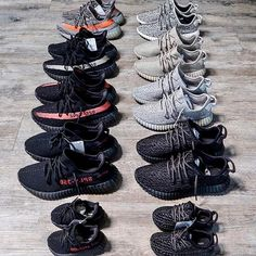 Yeezy Boost Collection On Point
