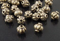 Bead Spacer 50 Antique Bronze Corrugated by BreathtakingBeadzz Metal Beads, I Shop, 50th, Bronze, Antiques, Etsy, Antiquities, Antique, Old Stuff