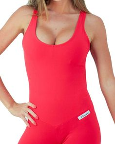 Brazilian Workout Wear: Azeda Beach Jumpsuit