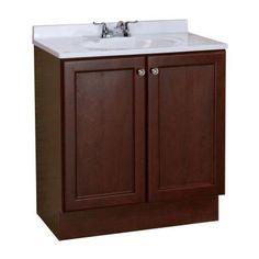 Glacier bay 25 in x 24 in bi view surface mount medicine - Bathroom vanity and medicine cabinet combo ...
