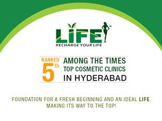 Life slimming and cosmetic clinic - Foundation for a Fresh Beginning and an Ideal Life. Making its way to the #Top!