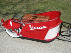 Just wanted to share some of the scooter cargo trailers I've designed and built over the past few years. I currently own a Vespa Honda Ruckus,. Vespa Ape, Piaggio Vespa, Lambretta Scooter, Vespa Scooters, Motorcycle Trailer, Bike Trailer, Scooter Motorcycle, Motorcycle Luggage, Cargo Trailers