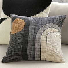 Up your style and your comfort with unique pillows and throw blankets from CB2. Shop online for decorative pillows, soft throw blankets and cozy poufs.