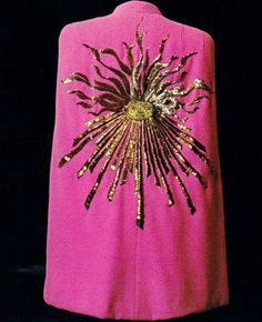 Phoebus cape by Elsa Schiaparelli _ Cosmic Collection, fw 1938
