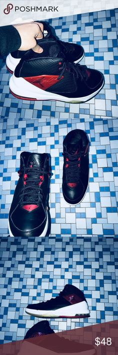 f9de2f81d04 Jordan Incline Jordan Incline Colorway  Black Red 705796-001 Size  10.5  Condition