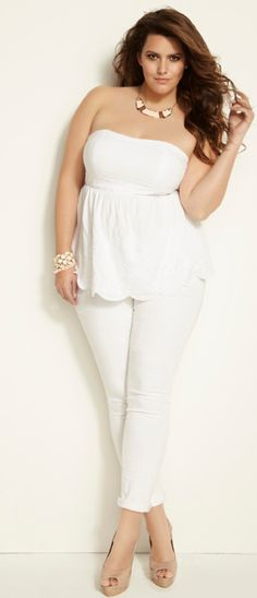 41 Best All White Outfit Ideas images | All white outfit ...