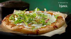 I samarbeid med restaurant Bjørk gir vi deg hemmeligheten bak deres grønne Blomkålpizza, rett fra menyen. Vegetable Pizza, Gluten Free, Vegetables, Food, Glutenfree, Sin Gluten, Vegetable Recipes, Eten, Veggie Food