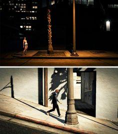 in-game streetphotography GTA V