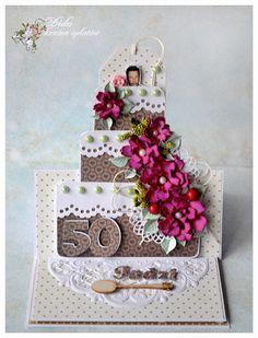 kartka z tortem